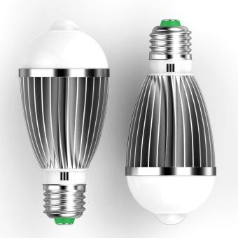 7w light bulb e27 pir auto motion sensor dete