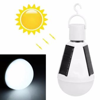 E27 12W Led Intelligent Lamp Solar Emergency Bulb - intl