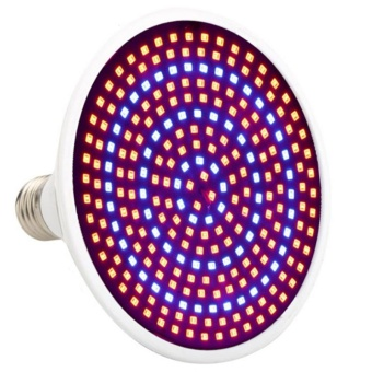 E27 26W Growth Lamp Bulb Red/ Blue LED Plant Grow Light for Indoor Gardening Greenhouse Flowering Hydroponics - intl
