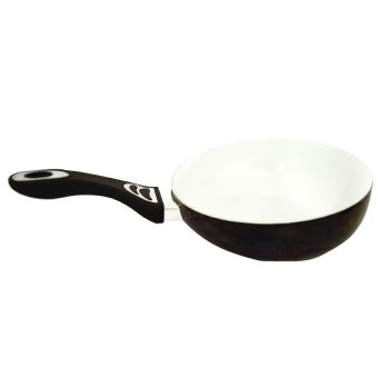 Easy to Flip Saute Ceramic Pan (Black)