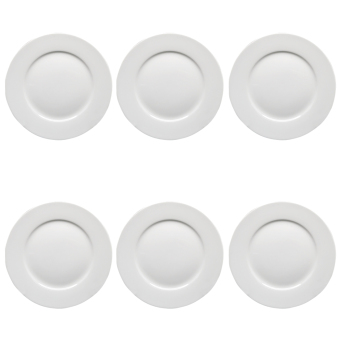 ... Edge 8\  Ceramic Breakfast Plate set of 6 (White) - 3  sc 1 th 225 & Shop Online Edge 8 - Philippines Online Price Comparison