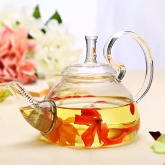 Electric Ceramic stove heating flower teapot glass pot