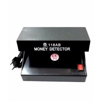 Electronic Fake Money Ultraviolet Detector AD-118AB (Black)