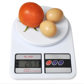 Electronic Kitchen Weighing Scale Digital 7kg Max Load