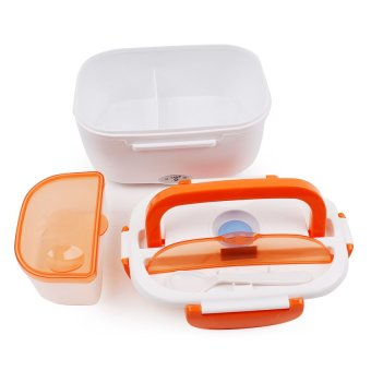 Electronic Lunch Box (White/Orange) - picture 2