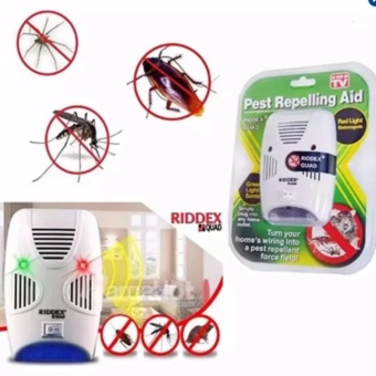 Electronic Ultrasonic Pest NEW Upgraded Control Repeller RatMosquito Mouse Insect Killer Bug Scare AC110V / 240V EU & USPlug - intl