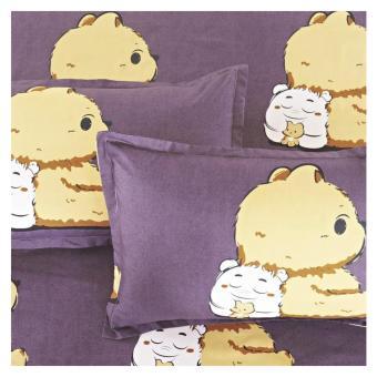 Elite 4 Piece Bedding Sets / Bedsheet (Teddy Bear ) - King - 3