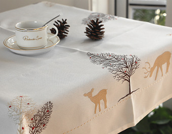 Embroidered refrigerator washing machine bedside cabinet cover cloth table cloth