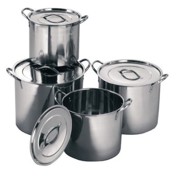 Empire Soup Pot Stainless Steel Ware 8-piece Set (Silver)