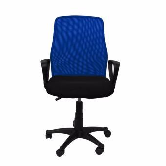 Ergodynamic EMC-124BLU Mesh Office Chair Furniture (Blue) - 5
