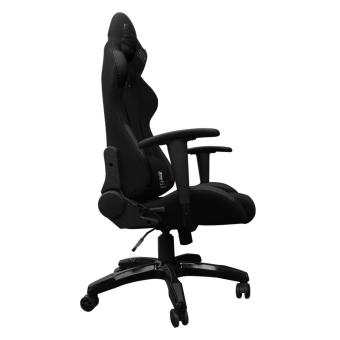 Ergodynamic F1-BLK FAB Racing Fabric Hi-Back Swivel and PneumaticHeight Adjustment Gaming Office Chair Furniture (Black) - 3