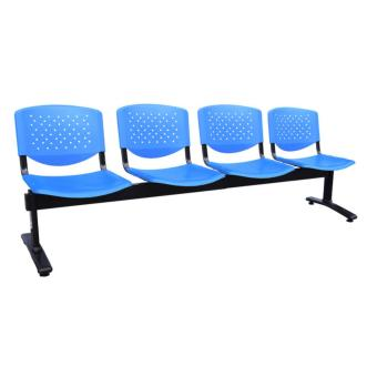 Ergodynamic GC-4BLU 4 Seater Deluxe Gang Chair (Blue) - picture 2