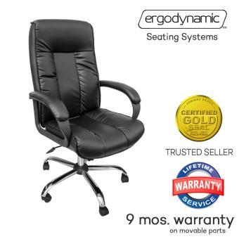 Ergodynamic HBC 109N High Back Office Chair Furniture, Desk Chair, Leather  Chair (