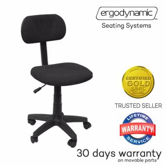 Ergodynamic OC-101BLK Staff Office Chair Computer Chair Furniture(Black)