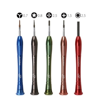 Eshine 5 in 1 Precision Screwdriver Set for iPhone 7 Opening RepairTools Kit - intl