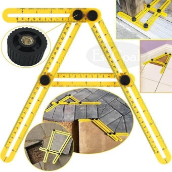 EsoGoal 2 Pcs Multi Angle Measuring Ruler Angle Measurement Toolfor Craftsmen Handymen Builders Carpenter DIY - intl - 5