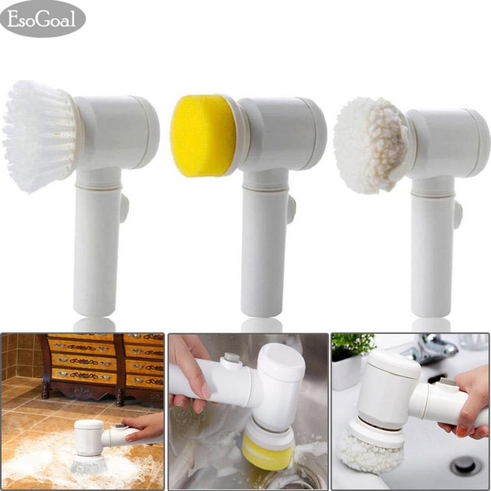 Philippines EsoGoal Power Scrubber Electric Cleaning Brush Battery - Battery powered shower scrubber