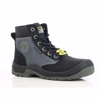 [EU SIZE 43] Safety Jogger Dakar Steel Toe Cap and Steel Midsole Safety Shoes (Black) - 4