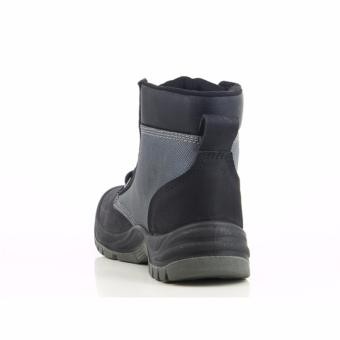 [EU SIZE 43] Safety Jogger Dakar Steel Toe Cap and Steel Midsole Safety Shoes (Black) - 5