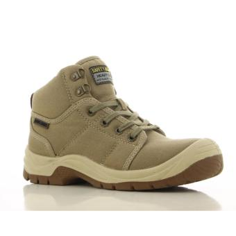 [EU SIZE 44] Safety Jogger Desert Steel Toe Cap and Steel Midsole Safety Shoes (Khaki) - 4