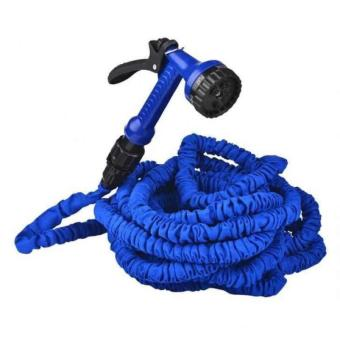 Expandable Garden Hose 75 ft (Blue)