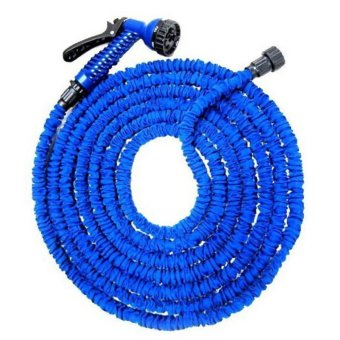 Expandable Garden Magic Hose up to 125 ft (Blue)