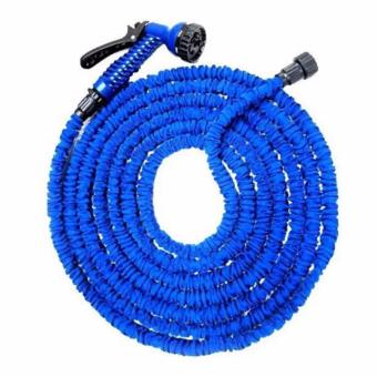 Expandable Garden Magic Hose up to 75 ft (Blue)