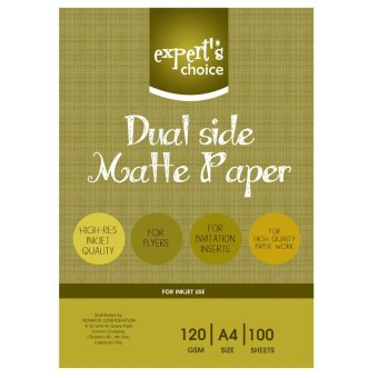 Expert's Choice Dual Side Mattepaper A4, 100 Sheets