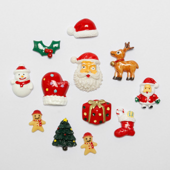 Exquisite magnet Christmas tree magnet stickers Christmas refridgerator Magnets
