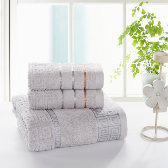 Extra-large super soft absorbent couple's bath towel cotton Bath towel