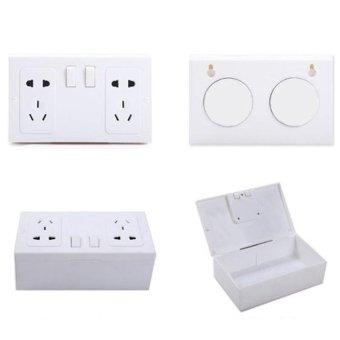 Fake Secret Wall Plug Socket Security Safe Money Jewel Box HidesValuables - intl - 2