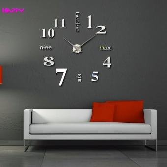 Fashion Home Decoration 3D Diy Wall Clock