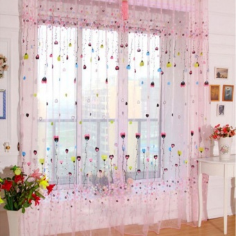 Fashion Living Room Bedroom Window Curtain - intl