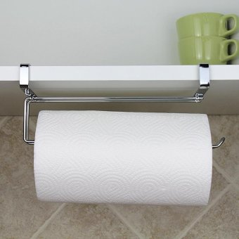 Fashion Paper Roll Holder Stainless Steel Hang Towel Tissue Rack -intl - 5