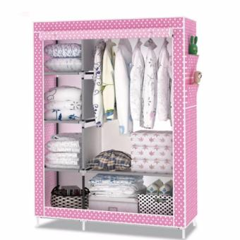Fashion Wardrobe Closet (Pink)