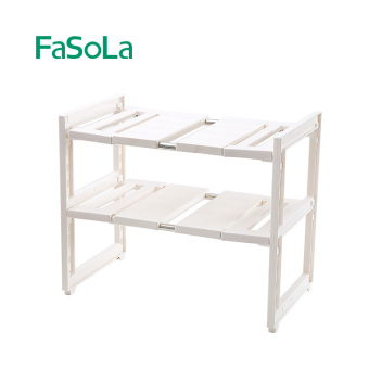 Fasola can be free to shrink under sink rack