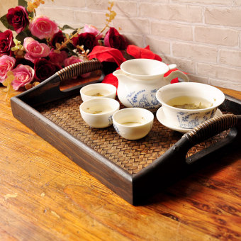 Features spa tray bamboo Tray