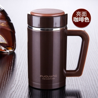 FGA 480m business men's vacuum stainless steel double layer office cup insulated cup