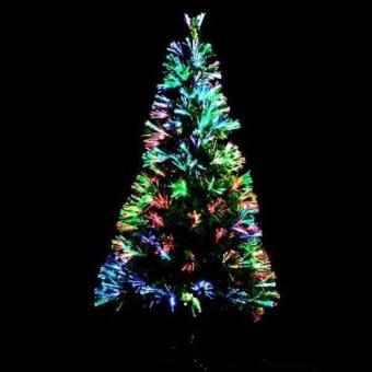Fiber Optic Christmas Tree 6ft- Multicolor