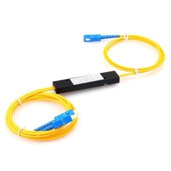 Fiber Optic PLC Splitter 1:2 SC Optical Branching Device - 5
