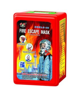Fire Mask Escape Mask Emergency EVAC Smoke Hood EMS Life SavingRespirator Smoke Mask