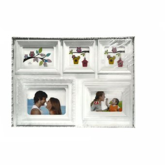 Five Frame Collage Picture Frame (White)