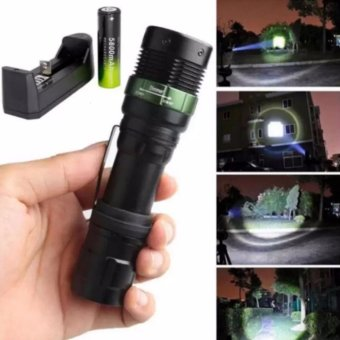 Flashlight 3500 LM 3 Modes CREE XML T6 LED Rechargeable