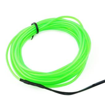 Flexible EL Wire Neon Light 1M/2M/3M/5M for Dance Party CarDecor+Controller - 3