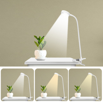 Flexible LED Book Reading Lamp Clip On Table Desk Lamp