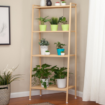 Floor living room flower shelf