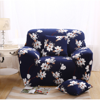 Floral Series Spandex Stretch Fitted Sofa Case Cover For 1 Seaterintl