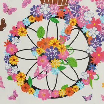 Flower & Girl Removable Wall Sticker Vinyl Decal DIY Room Home Mural Decor - 5