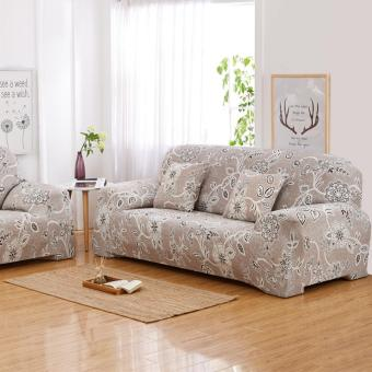 Flower bloom Simple four seasons solid color sofa cover/slipcover(L) - intl