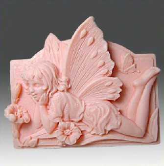 Flower fairy silicone handmade soap candle soap Mold